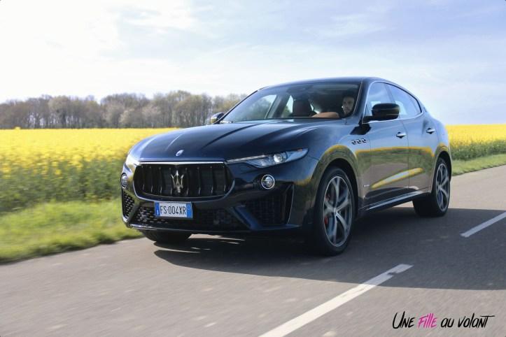 Maserati Levante 2019 SUV GranSport logo jantes dynamique
