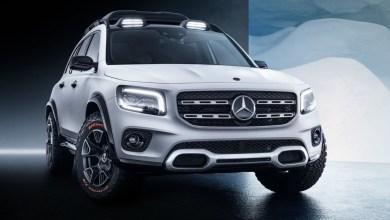 Photo of Mercedes GLB Concept : Classe B haute sur pattes