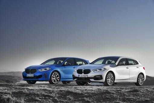 BMW Série 1 compacte avant statique