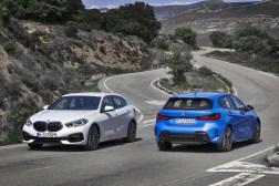 BMW Série 1 avant arrière calandre échappement