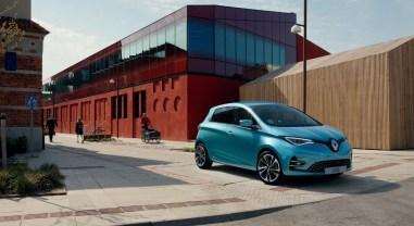 Renault Zoé 2019 avant calandre jantes