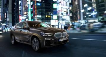 BMW X6 2019 calandre dynamique feux