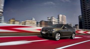 BMW X6 2019 avant dynamique jantes coupé