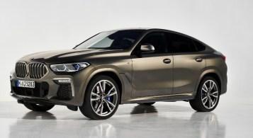 BMW X6 2019 M Performance calandre gris