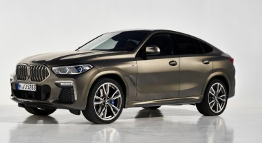 BMW X6 2019 M Performance calandre gris