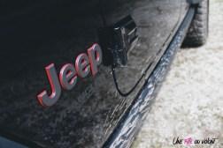 Jeep Wrangler Unlimited Rubicon 2019 logo détail