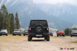 Jeep Wrangler Unlimited Rubicon 2019 arrière roue de secours noir boucliers feux