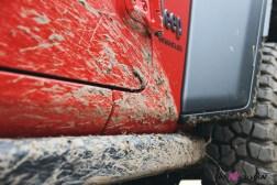 Jeep Wrangler 2019 boue off-road détail