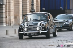 Traversée de Paris 2019 Mini's Addict Mini place vendôme paris