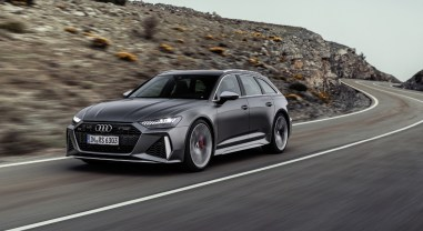 Audi RS6 Avant 2019 V8 face avant calandre feux