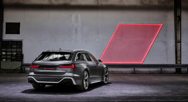 Audi RS6 Avant 2019 break feux arrière