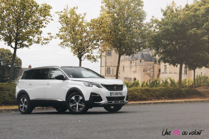 Peugeot 5008 GT Line calandre jantes profil SUV