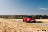 Essai Mazda MX-5 arrière feux rouge