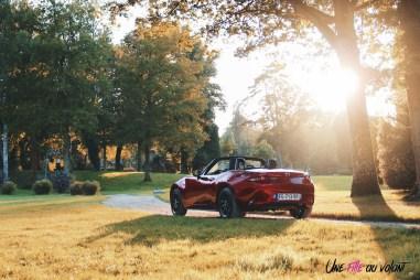 Essai Mazda MX-5 arrière feux été