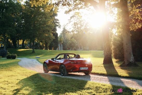 Essai Mazda MX-5 capote cabriolet rouge