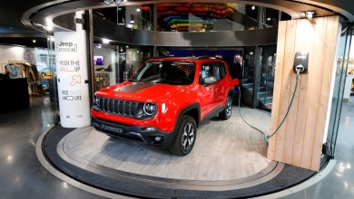 Photo of Le Jeep Renegade PHEV fait escale à Paris