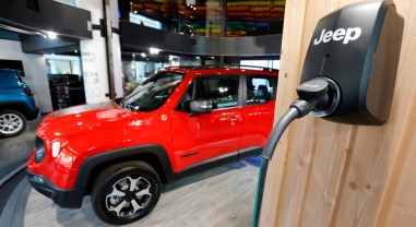 Jeep Renegade PHEV 2019 hybride rechargeable prise borne