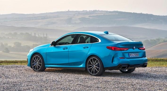 BMW Série 2 Gran Coupé 2019 arrière feux bouclier profil
