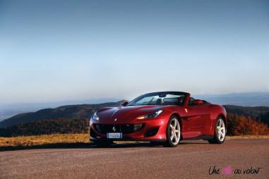 Road-Trip Ferrari Paris-Mulhouse Portofino cabriolet rouge