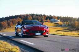 Road-Trip Ferrari Paris-Mulhouse portofino sportive cabriolet V8