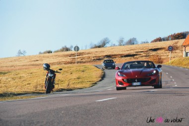 Road-Trip Ferrari Paris-Mulhouse Porsche 911 portofino moto