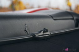 Road-Trip Ferrari Paris-Mulhouse logo détail portofino capote