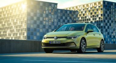 Volkswagen Golf 2019 face avant optiques compacte