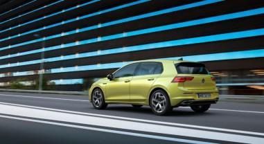 Volkswagen Golf 2019 arrière compacte hybride nouveauté
