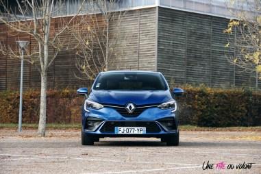 Comparatif Renault Clio 0176 face avant