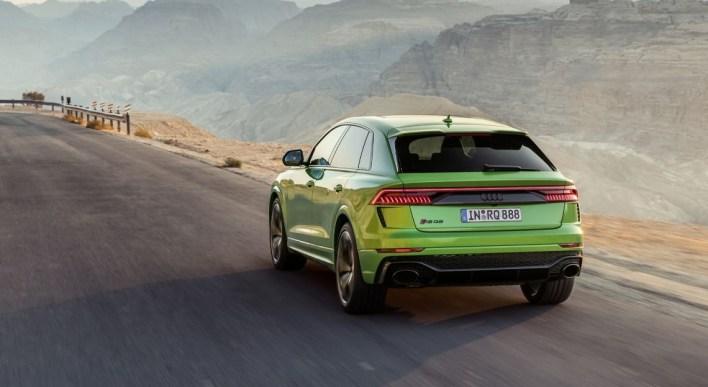 Audi RSQ8 2019 feux arrière bouclier