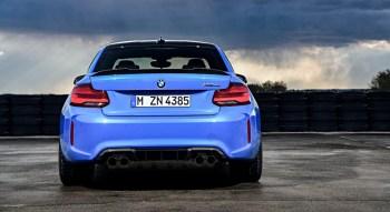 BMW M2 CS 2019 arrière diffuseur échappement