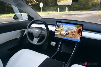 Essai Tesla Model 3 Performance 2019 intérieur sellerie