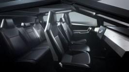 Tesla Cybertruck 2019 intérieur écran sièges