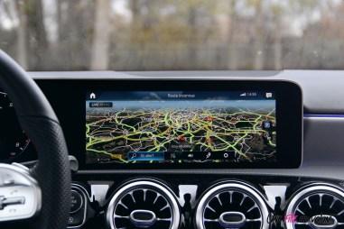 Essai Mercedes Classe A écran tactile