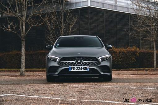 Essai Mercedes Classe A face avant