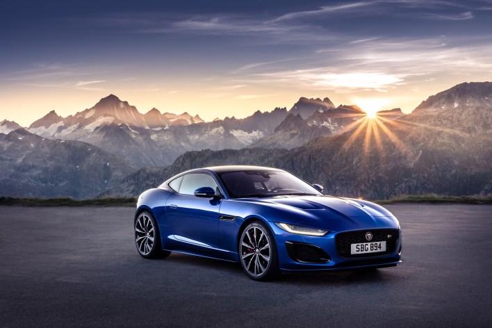 Jaguar F-Type 2019 coupé face avant