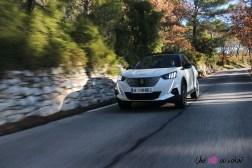 Photo essai sur route Peugeot 2008 2 Žlectrique 2019