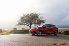 Photo essai Renault Clio 5 2019 rouge RS Line