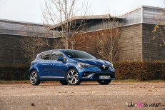 Photo essai Renault Clio 5 2019 Bleu Iron