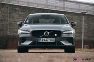 Photo Essai Volvo S60 Polestar Engineered face avant calandre logo