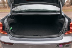 Photo Essai Volvo S60 Polestar Engineered coffre