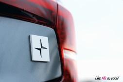 Photo Essai Volvo S60 Polestar Engineered logo arrire