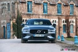 Photo Essai Volvo S60 Polestar Engineered calandre feux