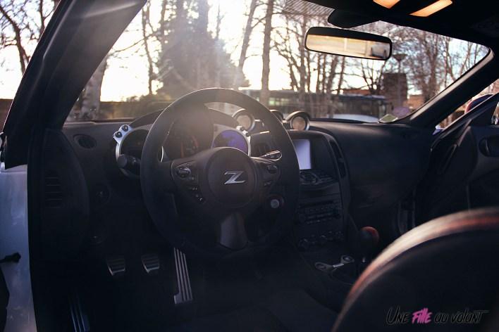 Photos Essai Nissan 370Z 50me anniversaire intŽrieur volant Žcran tactile