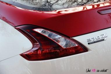 Photos Essai Nissan 370Z 50me anniversaire feux arrire
