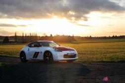 Photos Essai Nissan 370Z 50me anniversaire face avant profil