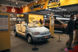 Photos Rétromobile 2020 Fiat Panda