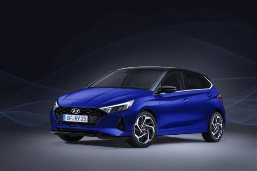Photos Hyundai i20 2020 face avant