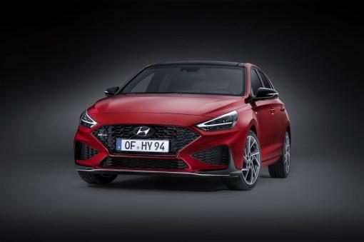 Photos Hyundai i30 restylŽe 2020 compacte face avant