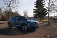 Photos essai Nissan Juke 2020 bleu topaze